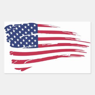 Aufkleber Flagge USA - M1