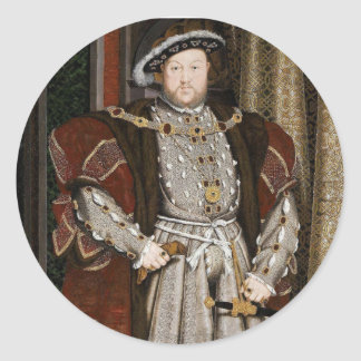 Aufkleber Henrys VIII