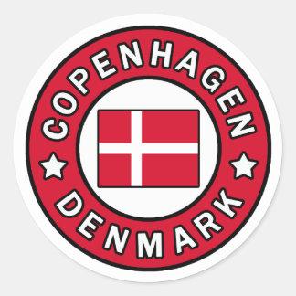 Aufkleber Kopenhagens Dänemark