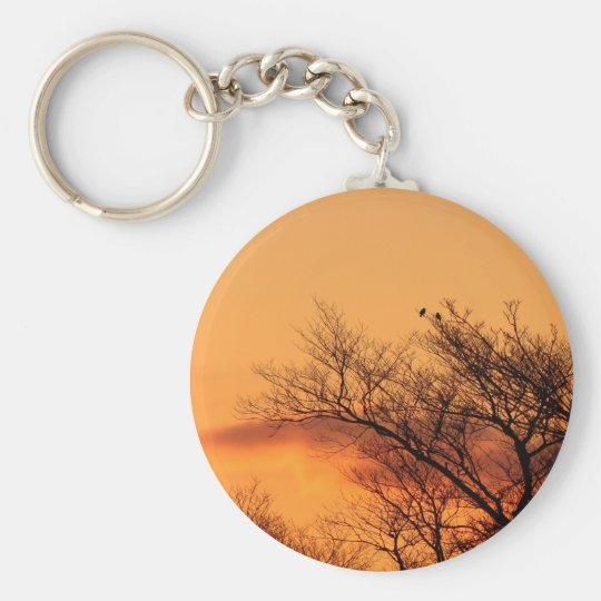 Aufpassen des Sonnenaufgangs Schlüsselanhänger