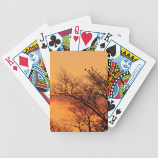 Aufpassen des Sonnenaufgangs Spielkarten