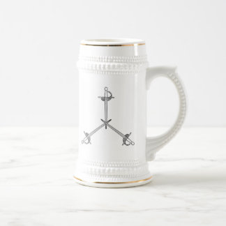 Auftrag der Verteidigungs-Tasse Bierglas