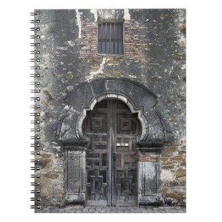 Auftrag Espada - San Antonio, Texas - Notizbuch Spiral Notizblock