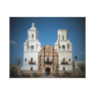 Auftrag Sans Xavier nahe Tucson, Arizona Leinwanddruck