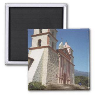 Auftrag Santa Barbara Quadratischer Magnet