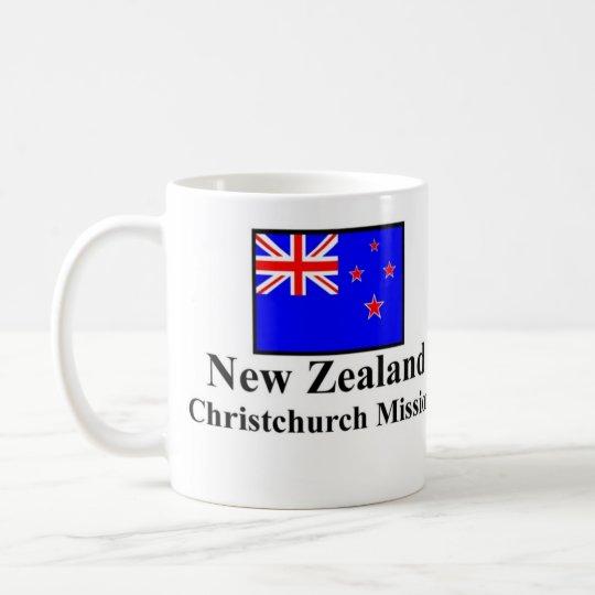 Auftrag-Trinkbehälter Neuseelands Christchurch Tasse