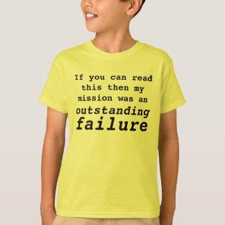Auftrag versagt T-Shirt