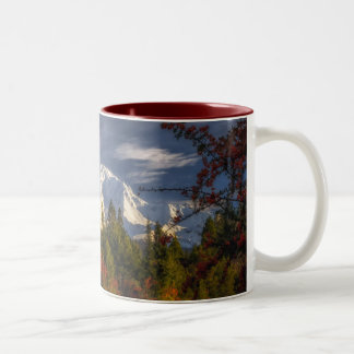 Aufwachen Zweifarbige Tasse