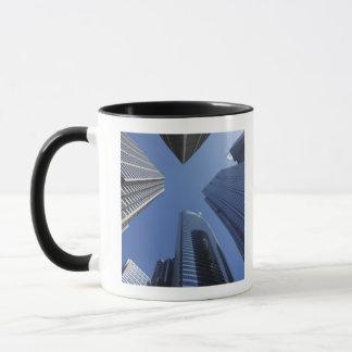 Aufwärts Außenansicht des niedrigen Winkels des Tasse