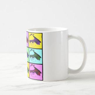 Auge sehen Sie (Pop-Art-Farbe) Tasse