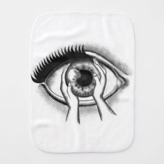 Auge Spucktücher