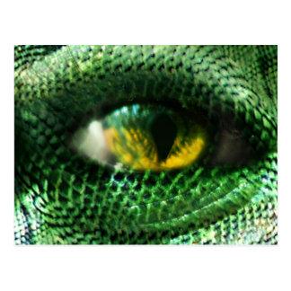 Auge von a. postkarte