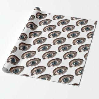 Auge von Providence (transparent) Geschenkpapier