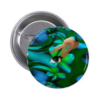 Auge wählte das Blumen-Produkt aus Buttons
