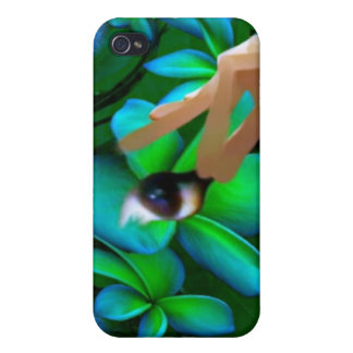 Auge wählte das Blumen-Produkt aus iPhone 4/4S Case