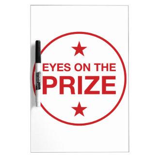 Augen auf dem Prize Stern-Kreis (wählen Sie Ihre Whiteboard