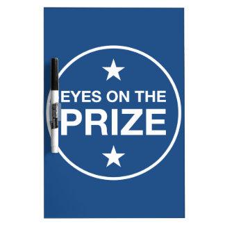 Augen auf der Prize Erinnerung (wählen Sie Ihre Trockenlöschtafel
