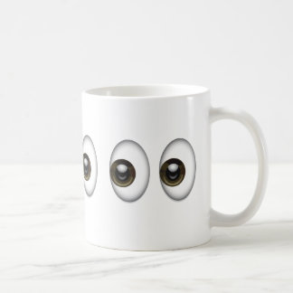 Augen Emoji Kaffeetasse