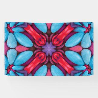 Augen-Süßigkeits-Muster-   Fahnen, 4 Größen Banner