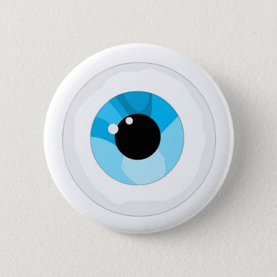 Augenball Runder Button 5,7 Cm