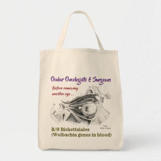 Augenfällige Onkologen/Chirurgen R/O Wolbachia Tragetasche