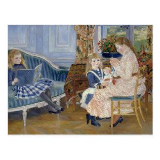 Auguste Renoir - der Nachmittag der Kinder bei Postkarte