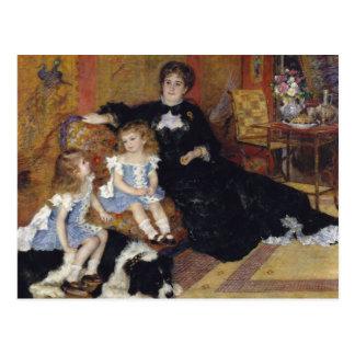 Auguste Renoir - Madame Georges Charpentier Postkarte