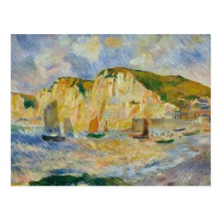 Auguste Renoir - Meer und Klippen Postkarte