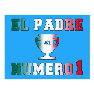 Aumônier Número d'EL 1 papa #1 dans la fête des Carte Postale