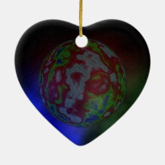 Aura eines Planeten, Keramik Ornament