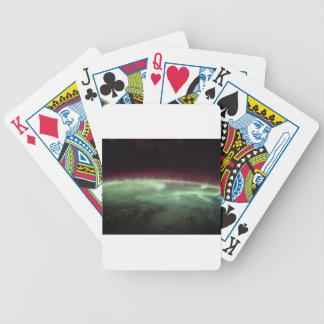Auroraen auf Erde Bicycle Spielkarten