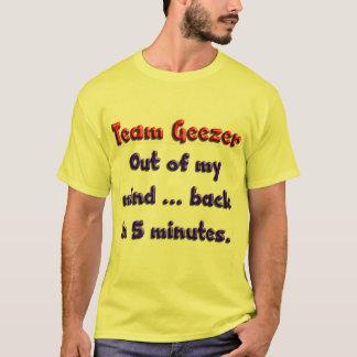 Aus meinem Verstand heraus… hinter in 5 Minuten T-Shirt