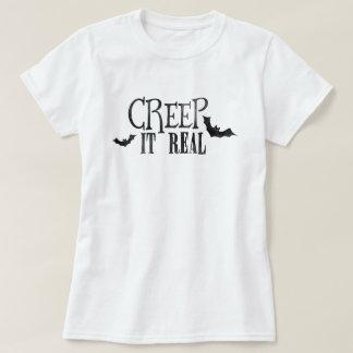 Ausdehnung es wirkliches Halloween T-Shirt
