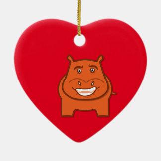 Ausdrucksvoll Playful Jack bondswell Maskottchen Keramik Herz-Ornament