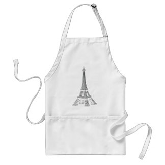 Ausflug Eiffel Schürze
