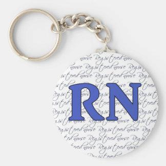 Ausgebildete Krankenschwester Keychain Schlüsselanhänger