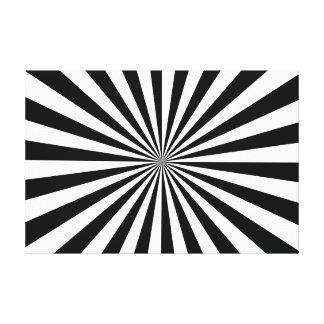 Ausgedehntes Leinwand-Druck-Schwarzes u. Weiß Leinwanddruck