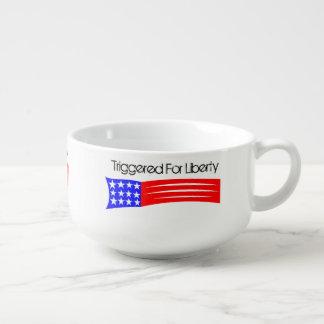 Ausgelöst für Freiheits-Suppen-Tasse Große Suppentasse
