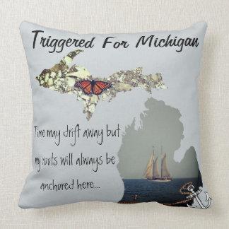 Ausgelöst für Michigan-Kissen Kissen