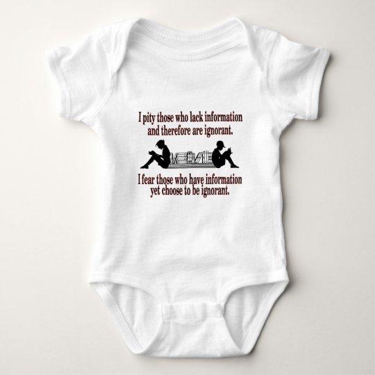 ausgesuchte Ignoranz Baby Strampler