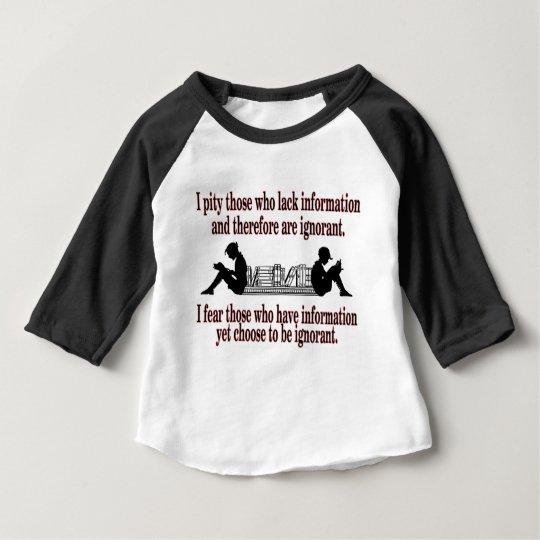 ausgesuchte Ignoranz Baby T-shirt