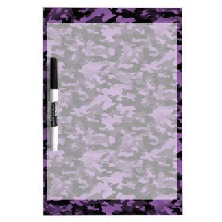 Auslöschbare Tabelle violette Trockentarnung Trockenlöschtafel