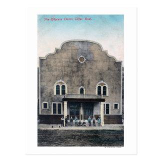 Außenansicht des neuen Ridgeway Theaters Postkarte