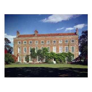 Außenansicht von niedrigem Middleton Hall Postkarte