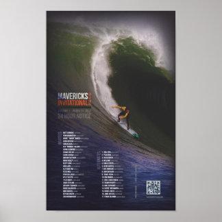 Außenseiter Einladungs - Eröffnungsfeier-Plakat Poster