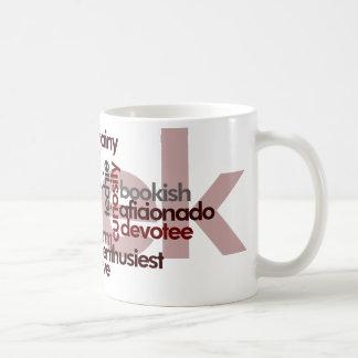Aussenseiter-Wort-Wolke Kaffeetasse