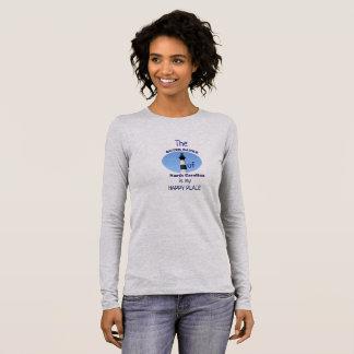 Äußere Banken -- Mein glücklicher Platz -- lange Langarm T-Shirt