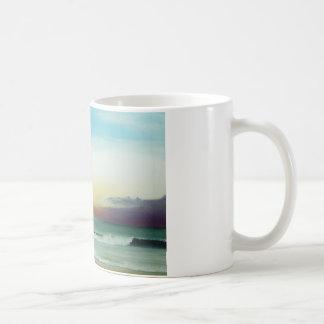 Äußerer Bank-Sonnenaufgang Kaffeetasse