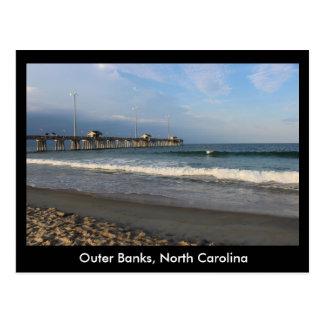 Äußeres Bank-North Carolina Postkarte