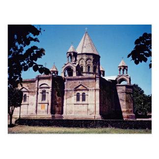 Äußeres von Etchmiadzin Kathedrale Postkarte